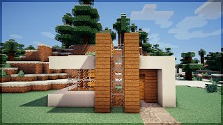 minecraft casa moderna uma survival construa minutos em