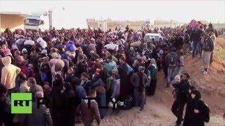 Syrie : une nouvelle vague de réfugiés échoue à la frontière avec la Turquie