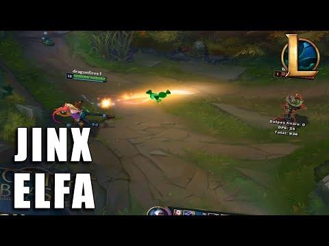 Jinx Elfa Ambiciosa - League of Legends (Pré BR)