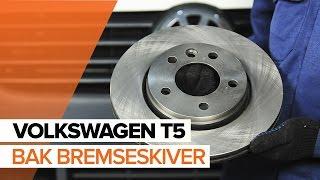 Verkstedhåndbok VW T5 Flatvogn lastebil nedlasting