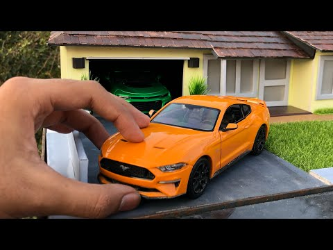 Unboxing of Mini Ford Mustang 2018 Diecast Model | Ft Camaro | American Muscle | By Ford Merchandise