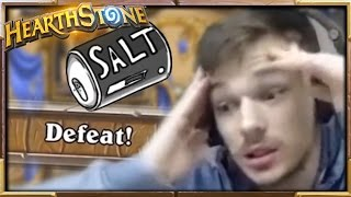 WIll this Video make you Salty..? | Saltage #20 | Salty Hearthstone Moments