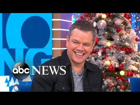 Download Youtube: Matt Damon reveals touching reason why he loves the holidays
