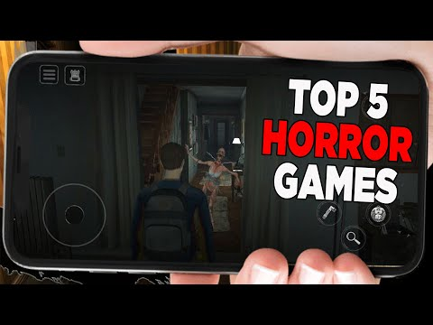 Top 5 Horror Games For Android - Eyes: Scary Thriller - Death Park - COLINA: Legacy - Only 18+ - 동영상