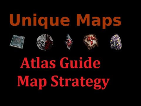 [PoE 2.4] Unique Maps (Atlas Guide & Map Strategy)