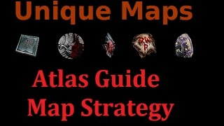 [PoE 2.4] Unique Maps (Atlas Guide & Map Strategy)