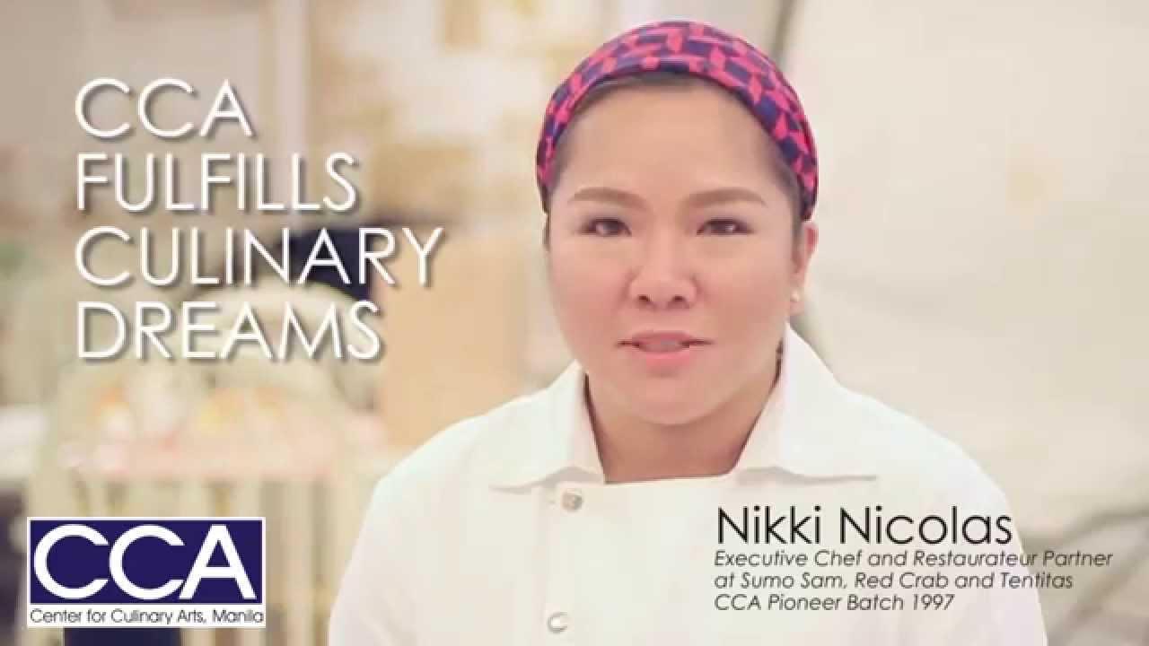 CCA Chef Nikki Nicolas