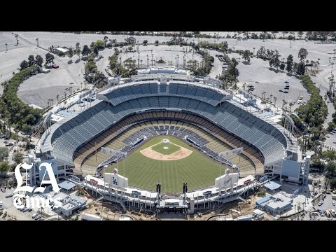 Opening day at Dodger Stadium is another empty moment in pandemic