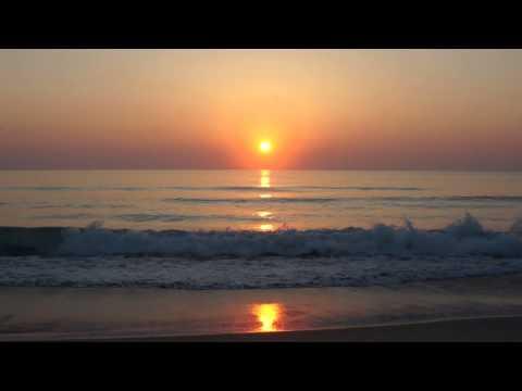 Sunrise Video | Indialantic Florida | Florida Sunrise 4 24 14 | Ocean Sound | Indialantic