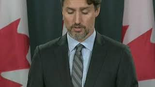 加拿大总理特鲁多: (死难者的)家庭寻求正义和责任,他们应该得到一个交代