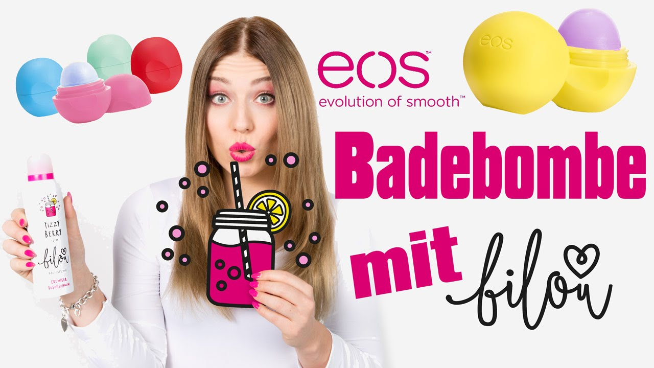 diy eos bilou badebombe selber machen live test mit bilou von bibis beauty palace youtube. Black Bedroom Furniture Sets. Home Design Ideas