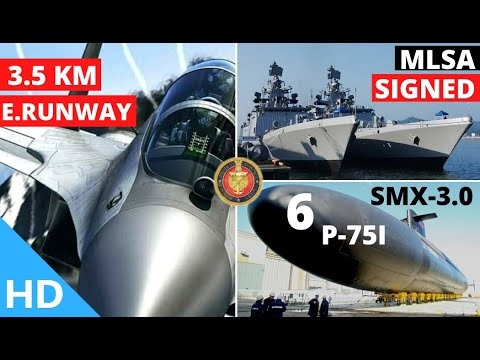 Indian Defence Updates : India Australia Sign MLSA,SMX-3.0 In P-75I,New NVD's For Mi-17,New Airstrip
