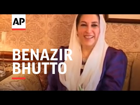 Benazir Bhutto meets Afghan President Karzai