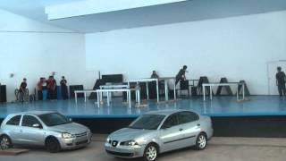 Exhibición de Parkour en Burjassot (Valencia) - 29/12/12