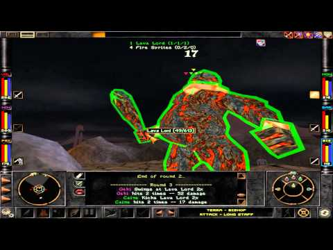 Wizardry 8 (HD) - Lava Lord |