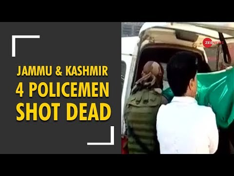 Jammu and Kashmir: Four policemen killed by terrorists in Shopian