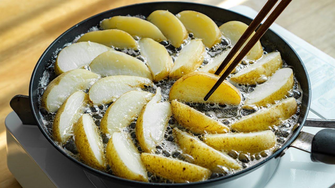바삭바삭! 오븐없이 초간단 웨지감자 만들기 : 이것만 뿌리면 더 맛있어져요! : No Oven Crispy Potato Wedges Recipe