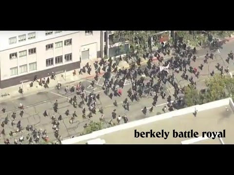 Berkeley Battle Royal (what are they fighting for?)