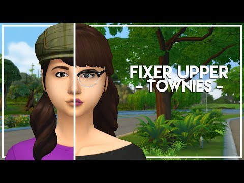 FIXING LIBERTY LEE (+ THE BFFS) // The Sims 4: Townie Makeovers