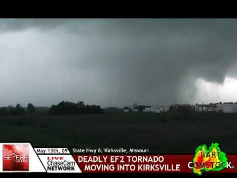 INSANE footage of the Kirksville, MO Tornado (HQ video with added footage) (5/13/09)