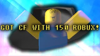 ROBLOX Trading R$10000 à R$50000: 150 ROBUX FOR A CLASSIC FEDORA!!!!! #21