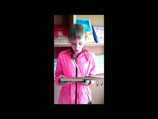 Изображение предпросмотра прочтения – Мария ДенисовнаШишкина Мария Денисовна читает произведение «Зимняя дорога» А.С.Пушкина