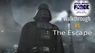 Star Wars The Force Unleashed 2 100% Walkthrough #1 - The Escape (No Commentary) Medium Difficulty