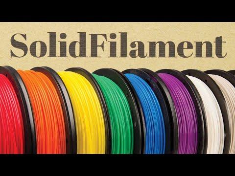Обзор SolidFilament: новый качественный пластик для 3D-печати - PLA, ABS, PETG, TPU, HIPS, нейлон
