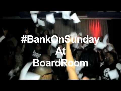 #BankOnSunday at BoardRoom Chicago (Promo)