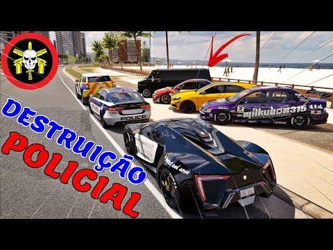 FORZA HORIZON 3 - DESTRUIÇÃO POLICIAL - SERÁ QUE TEM REFÉNS?