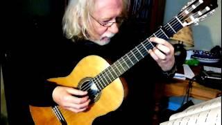 Preludium by John Dowland - Rob MacKillop, gut-strung guitar