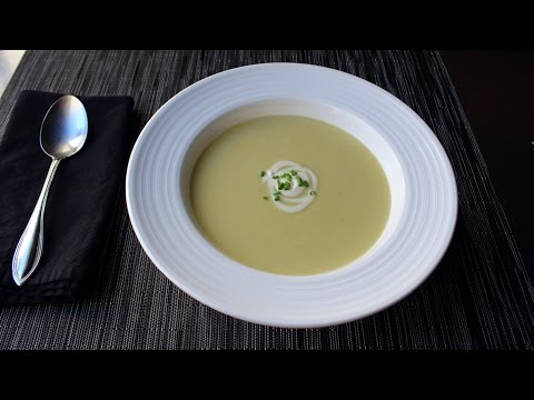 Potato Leek Soup Recipe How to Make Vichyssoise