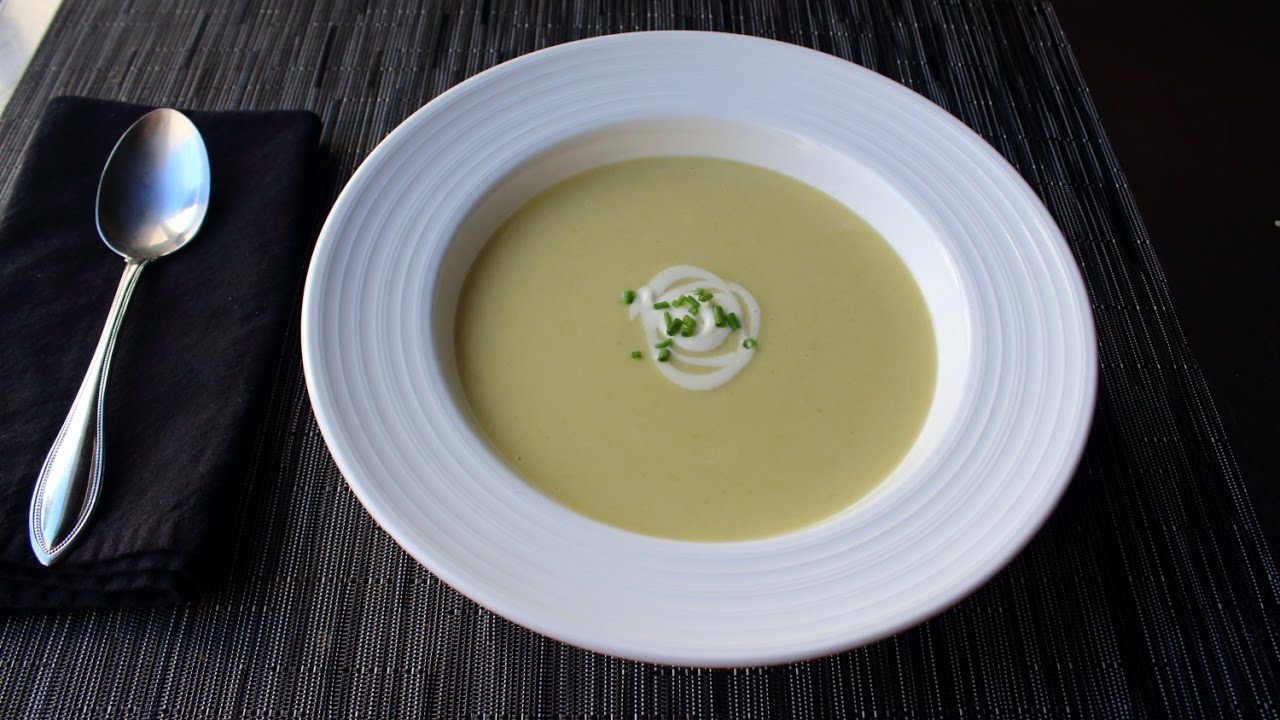 how to make leek soup without potatoes