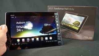 ASUS Transformer Pad Infinity Tablet: Unboxing & Review