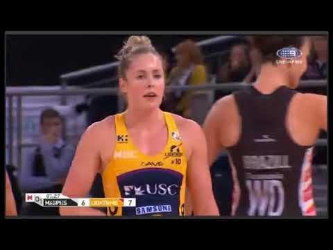 Netball-Suncorp Super-Collingwood Magpies vs Sunshine Coast Lightning-AUSTRALIA-Round 11