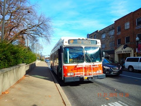 🚍/💺 CATA Bus (State College, PA): 1998 New Flyer C35LF (CNG) #76 ~ w/ Detroit S50G