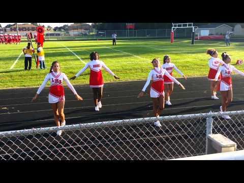 Lehman Middle School vs Barberton cheerleaders