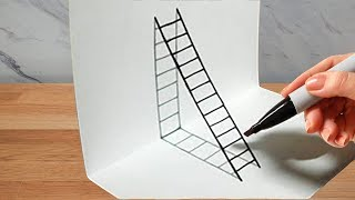 2 Amazing Drawing Tricks for Students to impress their friends at School