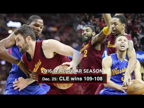 Cavaliers vs. Warriors: A look back at the rivalry