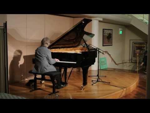 """Alan Broadbent, solo piano - """"Polka Dots and Moonbeams"""" at Piedmont Piano Company"""