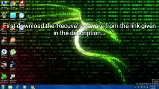 Get your deleted files back easily in Windows by this free software!