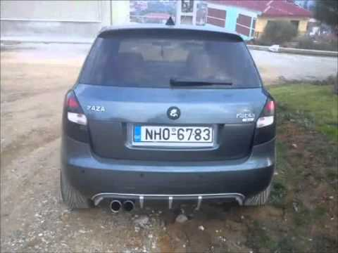 skoda fabia 2 tuning 2012 youtube. Black Bedroom Furniture Sets. Home Design Ideas