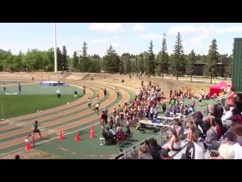 2016 High School Edmonton Zone: INT MENS 4x100m