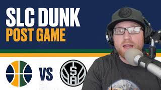 Utah Jazz vs San Antonio Spurs Post Game Reaction - Rodney Hood shows up BIGTIME!