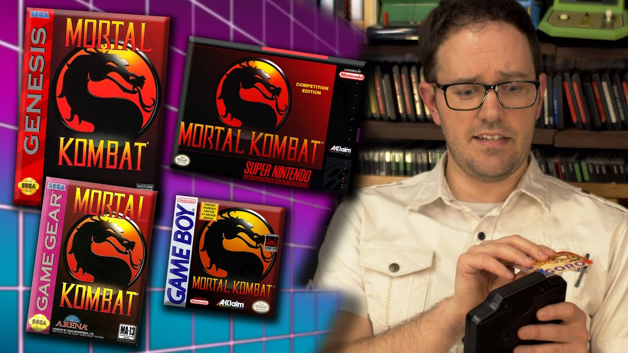 Mortal Kombat 1 Ports – Angry Video Game Nerd (AVGN) — Cinemassacre