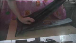 видео ваз 2110 обшивка дверей