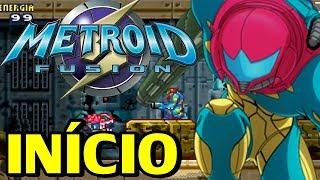 Metroid Fusion (GBA) - O Início (Jogo em Português)