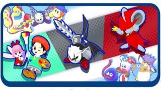 Kirby Star Allies - Adeleine & Ribbon, Dark Meta Knight and Daroach
