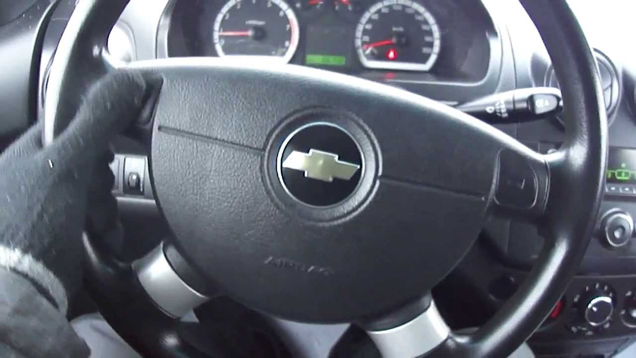 2008 Chevrolet Aveo. Start Up, Engine, And In Depth Tour.   YouTube