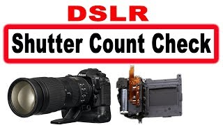DSLR shutter count check, What to do before buying secondhand camera? #Photo Vision